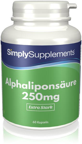 Alpha Lipoic Acid Capsules 250mg - E220