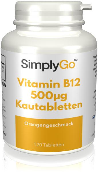 Vitamin B12 500µg Kautabletten