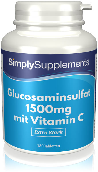 Glucosamine 1500mg Tablets with Vitamin C - S588