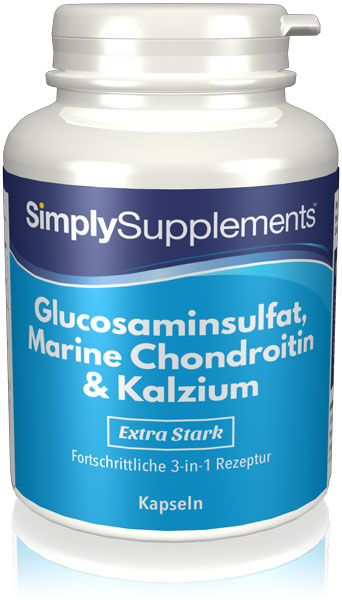 Glucosamin 700mg, Chondroitin 600mg & Kalzium 60mg