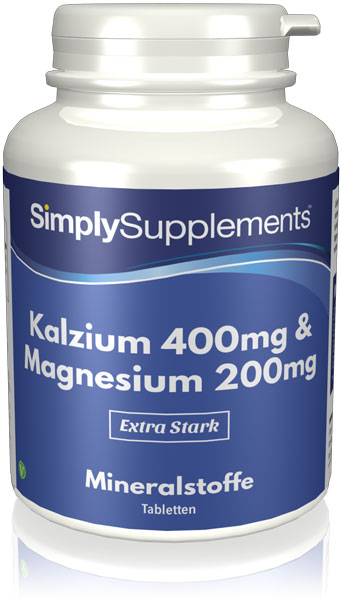 120 Tablet Tub - calcium and magnesium supplements