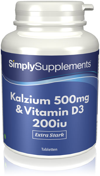 Calcium and Vitamin D Tablets - S900