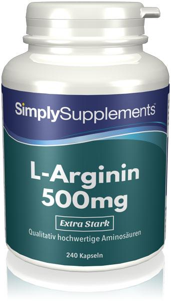 L-Arginin 500mg