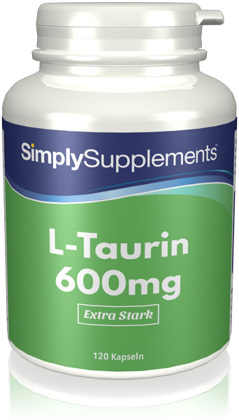 L-Taurine Capsules 600mg - E454