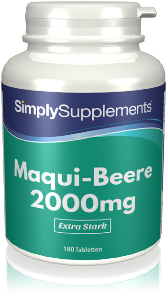 Maqui Berry Tablets 2000mg - E500