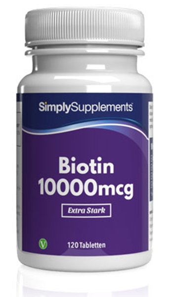 Biotin Tablets 10000mcg - E584
