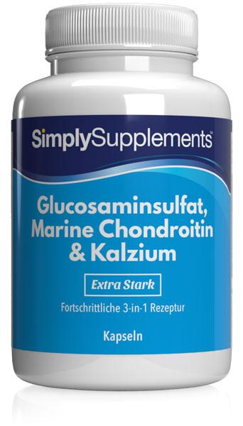 Glucosamine, Chondroitin and Calcium Capsules - S436