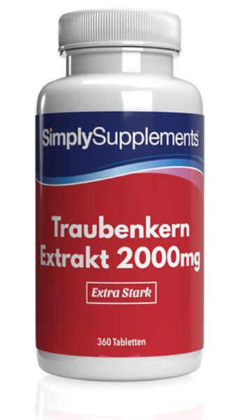 Grape Seed Extract Tablets 2000mg - E371