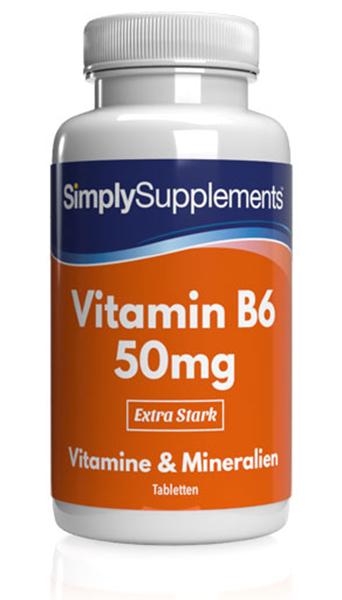 Vitamin B6 Tablets 50mg - E466
