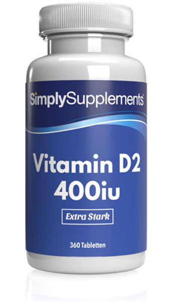 Vitamin D2 400IU