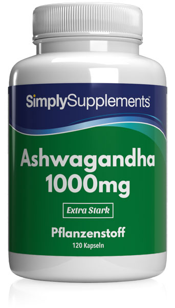 Ashwagandha Extrakt 1000mg