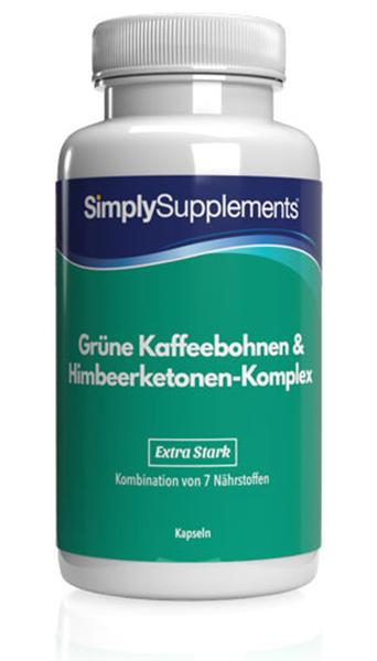 Grüne Kaffeebohne & Himbeerketon-Komplex