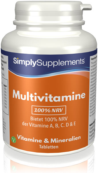 100% NRV Multivitamins - 120 Tablet Tub