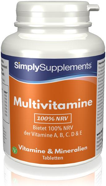 Multivitamine A, B, C, D & E 100% NRV