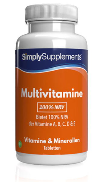 100% NRV Multivitamins - 120 Tablet Tub