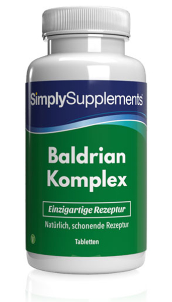 120 Tablet Tub - valerian complex