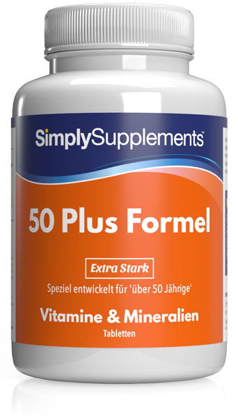 180 Tablet Tub - multivitamins 50 plus