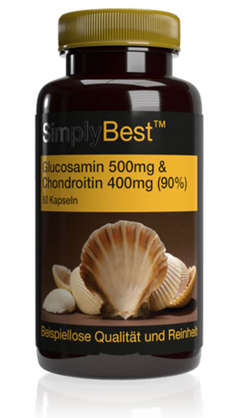 Glucosamin 500mg & Chondroitin 400mg (90%) – SimplyBest