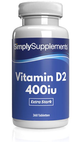 Vitamin D Tablets 400iu - E509