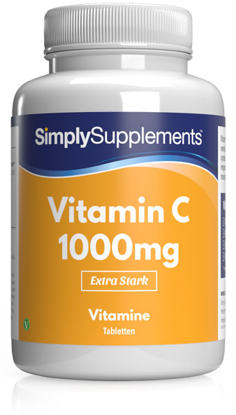Vitamin C Tablets with Rosehip - S763