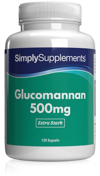Glucomannan Fiber 500mg