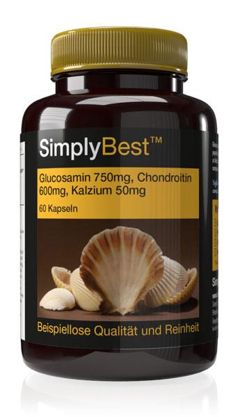 Glucosamine, Chondroitin & Calcium Capsules - E759