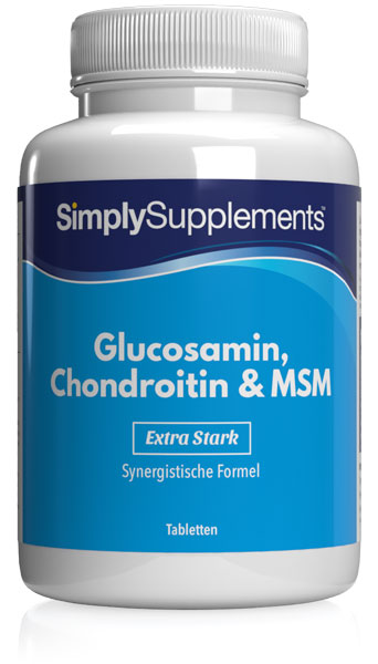 120 Tablet Tub - glucosamine chondroitin msm
