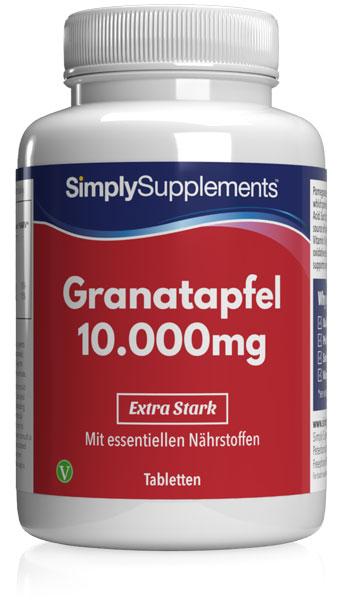 Pomegranate Extract Tablets 10000mg - E511