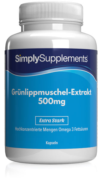 Green Lipped Mussel Extract Capsules - E457