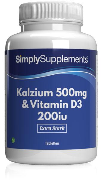 60 Tablet Tub - calcium vitamin d supplement