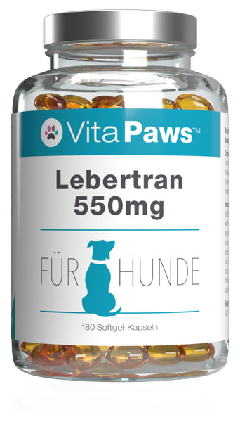 Cod Liver Oil for Dogs 550mg