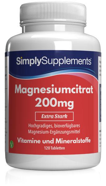 Magnesiumcitrat 200mg