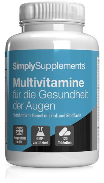 Multivitamine für die Gesundheit der Augen