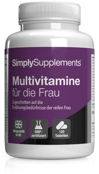 Multiviatmine für die Frau