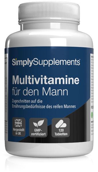 Multivitamine für den Mann