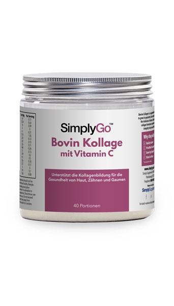 Bovin Kollagenpulver mit Vitamin C