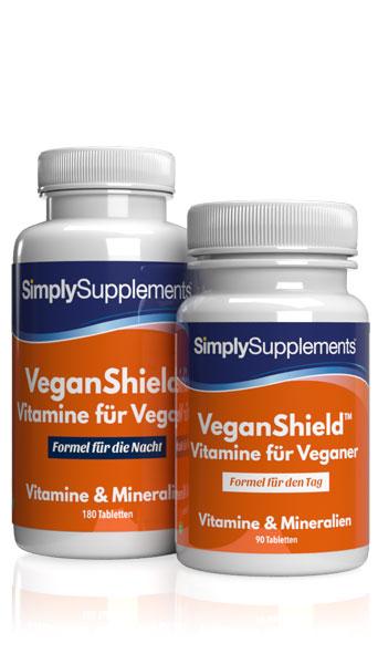 VeganShield – Vegane Multivitamine mit Omega 3