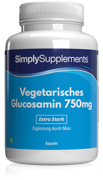 Vegetarisches Glucosamin 750mg