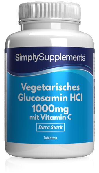 Vegetarian Glucosamine Tablets - E590