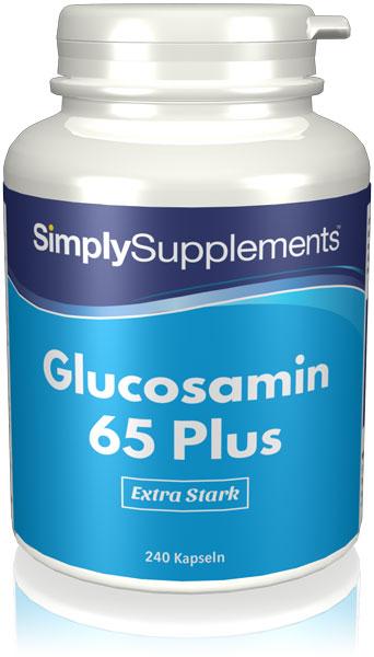 Schnell freizusetzendes Glucosamin 65 Plus