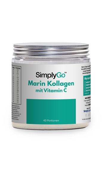 Marine Kollagenpulver mit Vitamin C