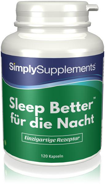 Sleep Better - für die Nacht