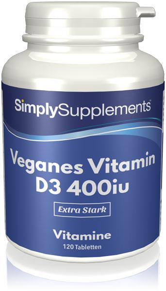 Veganes Vitamin D3 400iu