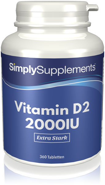 Vitamin D2 Tablets 2000iu - E595