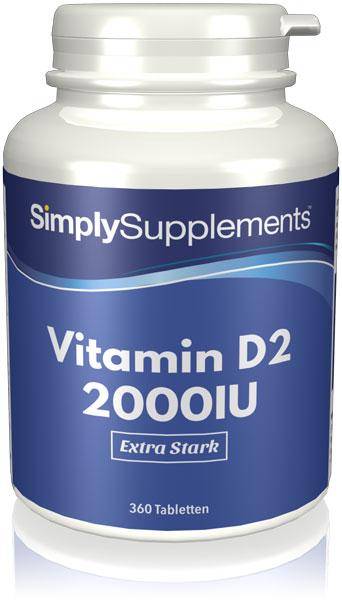 Vitamin D2 2000iu