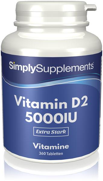 Vitamin D2 5000iu