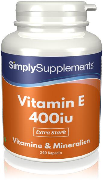 Vitamin E Capsules 400iu - E455